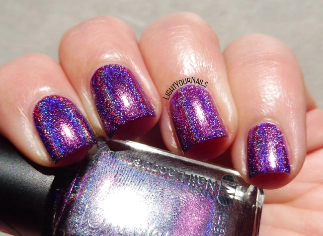MyDance Dark Purple Holographic at BeautyBigBang