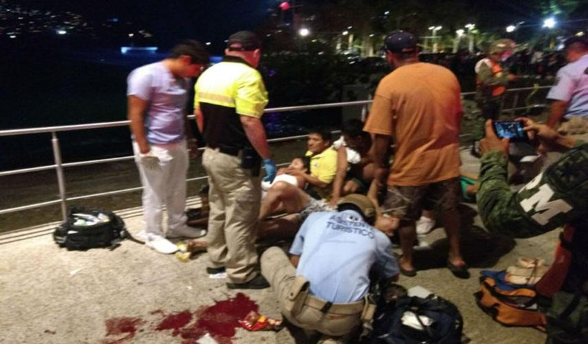 Acapulco se desangra: ataque armado deja 2 muertos y 6 heridos (VIDEO)