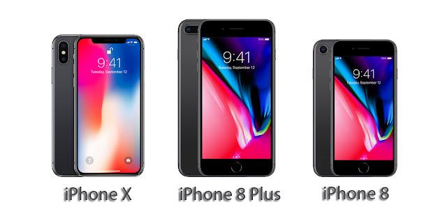 Diferenças entre o iPhone X, iPhone 8 e 8 Plus