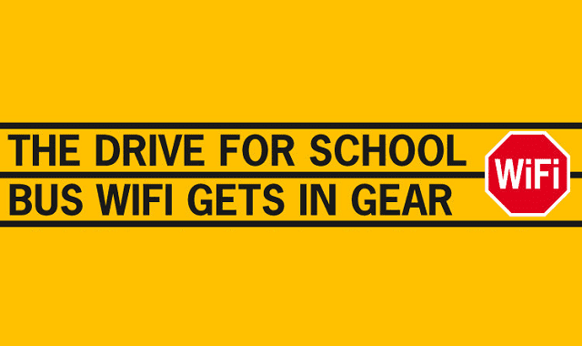 Image: The Drive for School Bus Wifi Gets in Gear