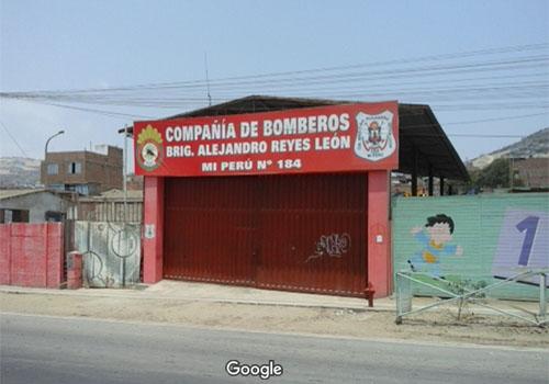 Estación de Bomberos Voluntarios Brig. CPB Alejandro Reyes León Nº 184