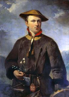 Carl von Linné, por Hendrik Hollander (1853)