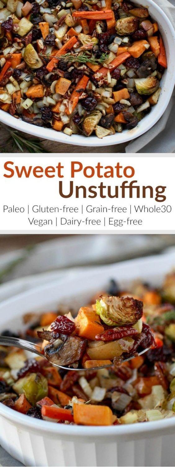 Sweet Potato Unstuffing