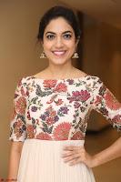 Ritu Varma smiling face Cream Anarkali dress at launch of OPPO New Selfie Camera F3 ~  Exclusive 084.JPG