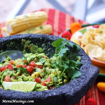 Fire Roasted Corn Guacamole_menumusings.com