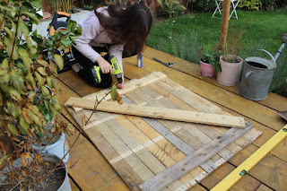 how to make double doors for a shed