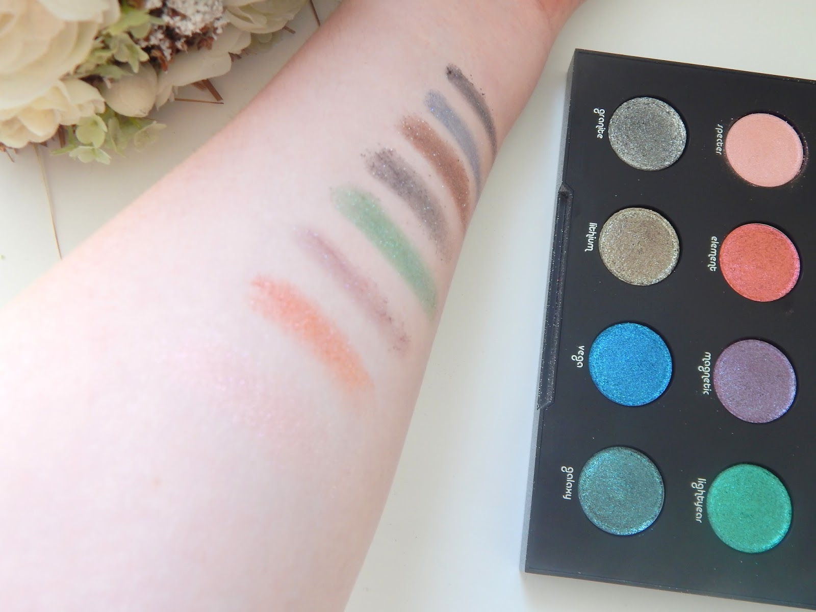 Urban Decay Moondust Palette || Review, Swatches and Tutorial