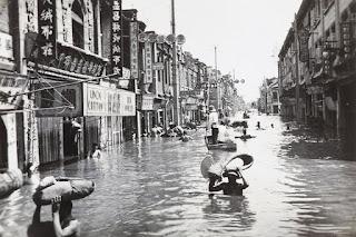 Banjir Sungai di China