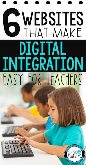 6 Websites That Make Digital Integration Easy for Teachers