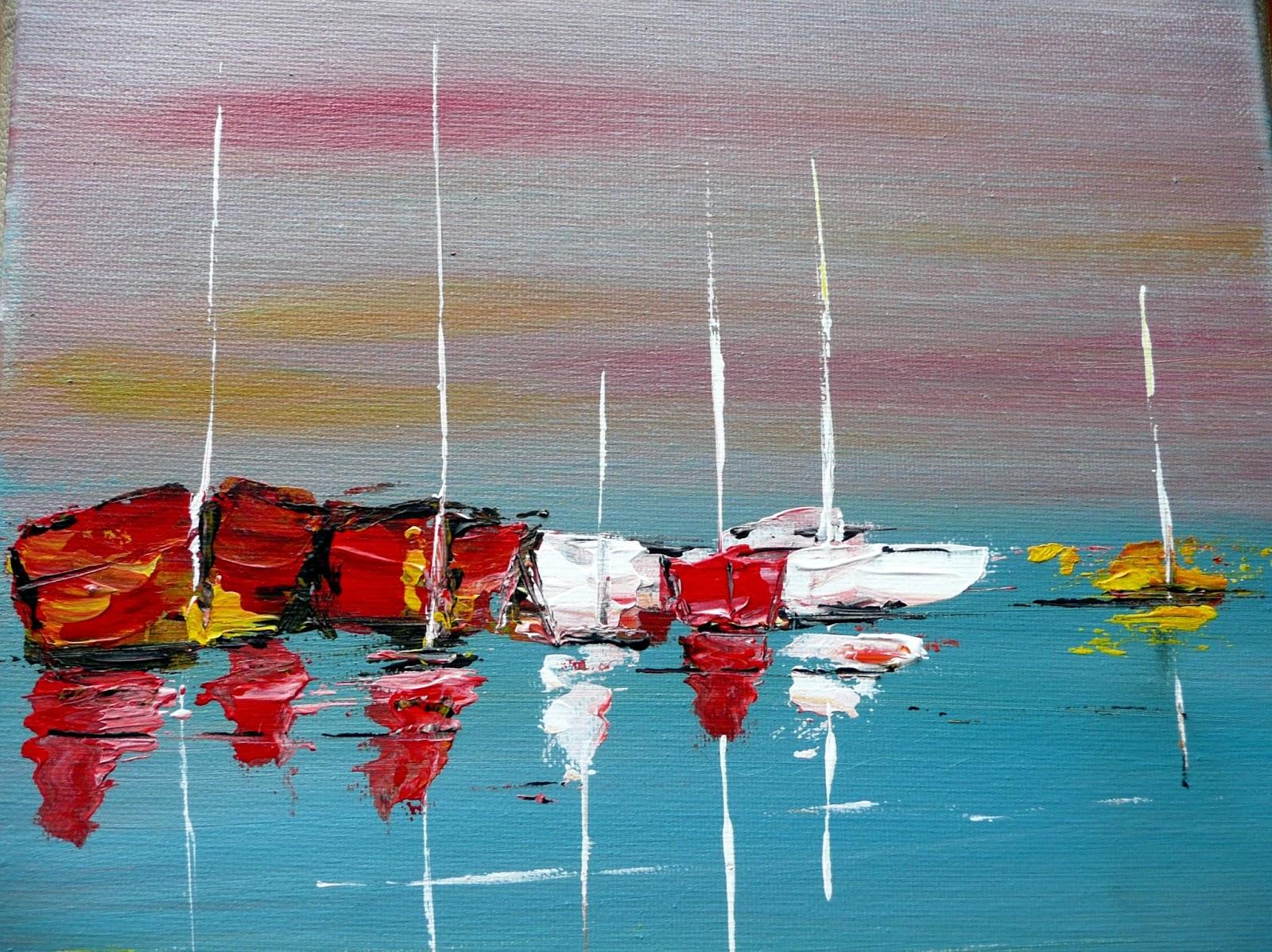 Nicole catt artiste peintre peinture acrylique Peinture impression