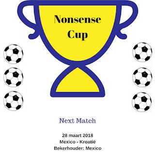 Nonsense Cup Eerste wedstrijd Mexico - Kroatie