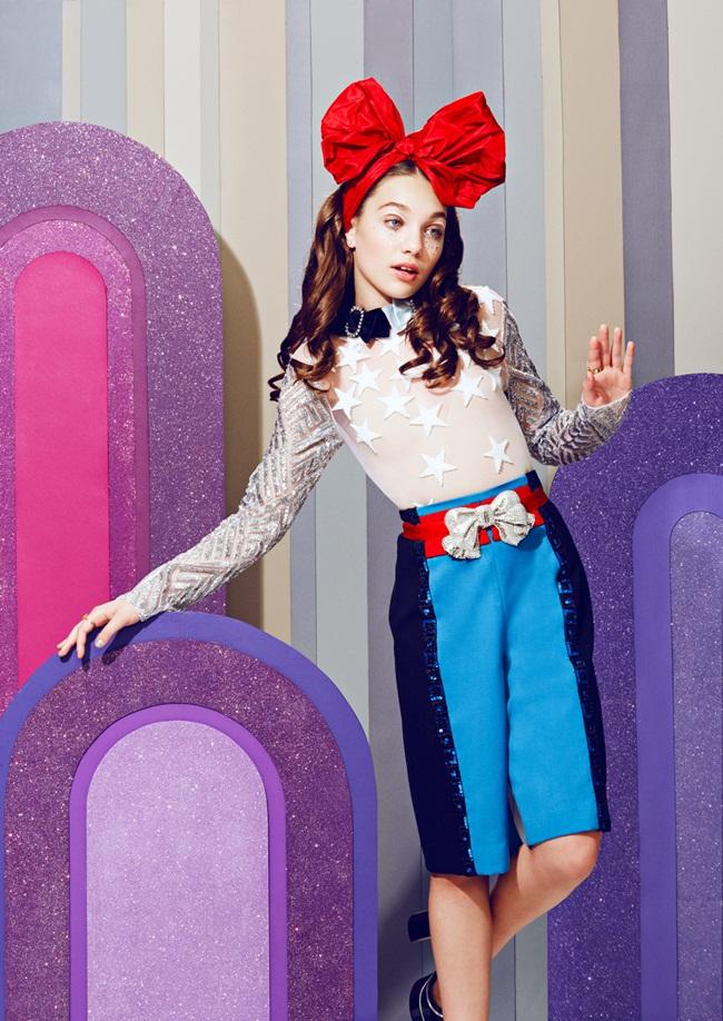2016 SS Marc Jacobs Swan Prince Garment Set Editorials