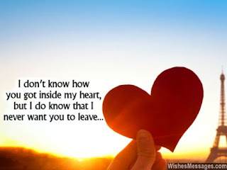 Love Messages For Him From the Heart