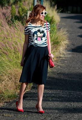 imagenes de Faldas Casuales Moda