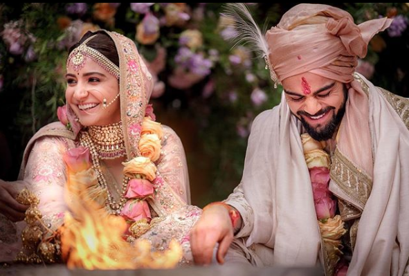 Anushka Sharma And With Virat Kohli Wedding Day
