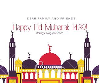 Happy Eid al-Fitr 1439 H!