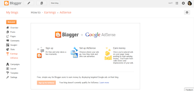 How to Display Google Ads on your blogger
