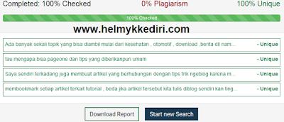 Situs untuk cek artikel plagiat atau asli1