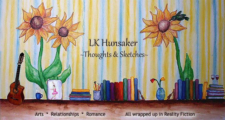 LK Hunsaker, Thoughts and Sketches
