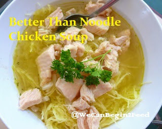 Better Thank Noodle Chicken Soup