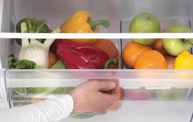 Cómo conseguir que tus cajones del frigorífico estén siempre limpios