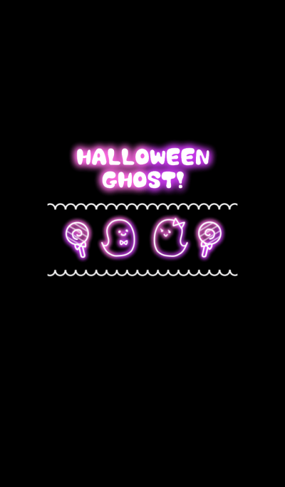 Cute! Pop! Halloween Ghost !! B