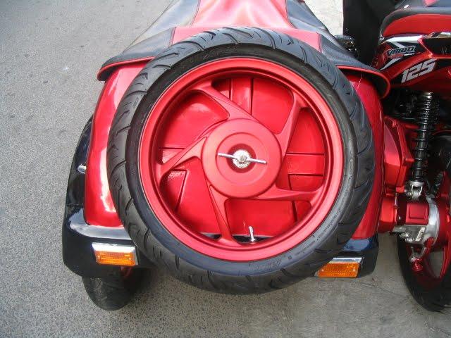 Modifikasi Honda Vario Techno 125  oto trens