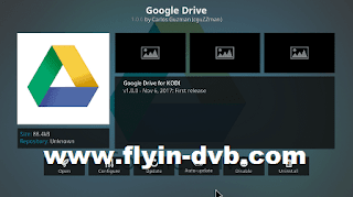 Google Drive Add-ons KODI