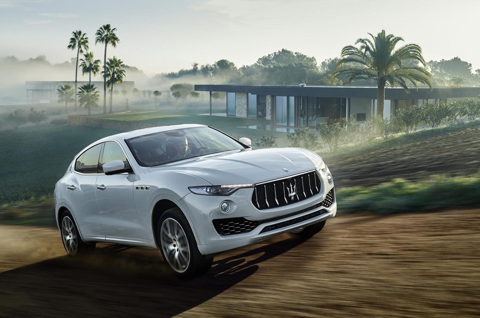 Maserati Levante 2017 có đủ sức cạnh tranh với Bentayga hay các dòng xe hạng sang của Porsche?