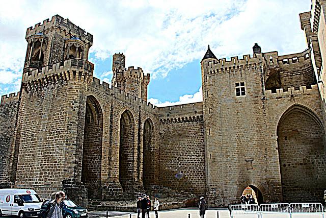 Castillo de Olite. Navarra
