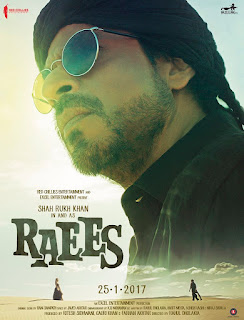 srk-raees new poster