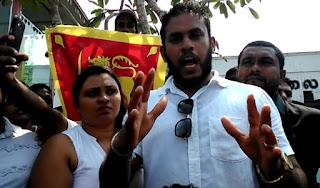 Youth Named'Dan Priyasad' who calls himself the 'Saviour of the Sinhalese'