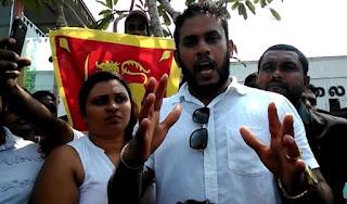 Youth Named'Dan Priyasad' who calls himself the 'Saviour of the Sinhalese'