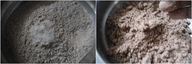 Ragi Puttu   Finger Millet Steamed cake   Millet Recipe