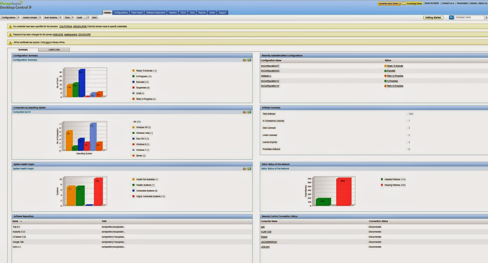 New Cracked Softs: Download Desktop Central Version 9 0