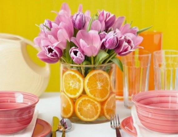 arranjos para a mesa do Dia das M u00 -> Decoração De Mesa Para Almoço Dia Das Mães