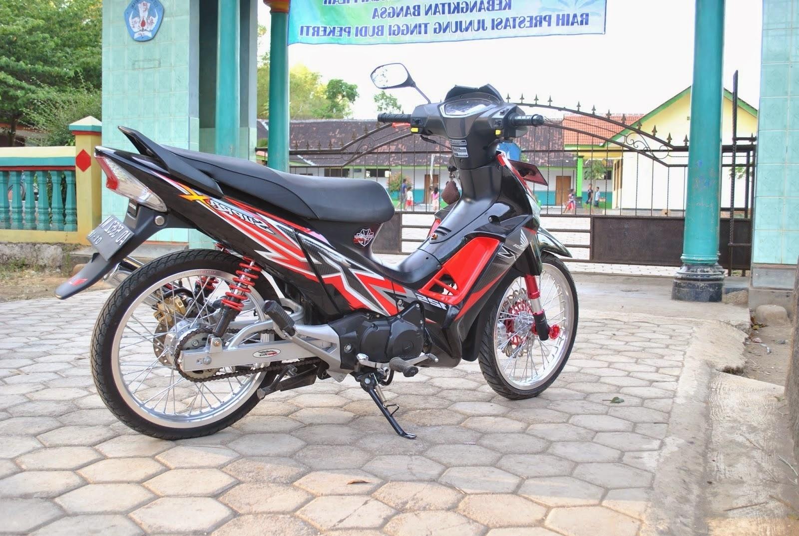 Modifikasi Motor Honda Supra X 125 Kumpulan Modifikasi Motor