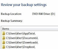 back up and restore Windows 7 files guide