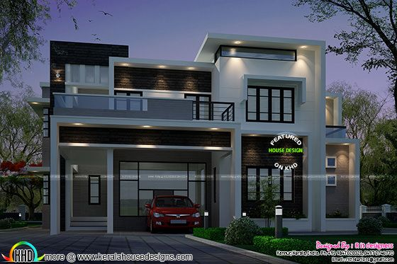 2883 sq-ft Contemporary style house