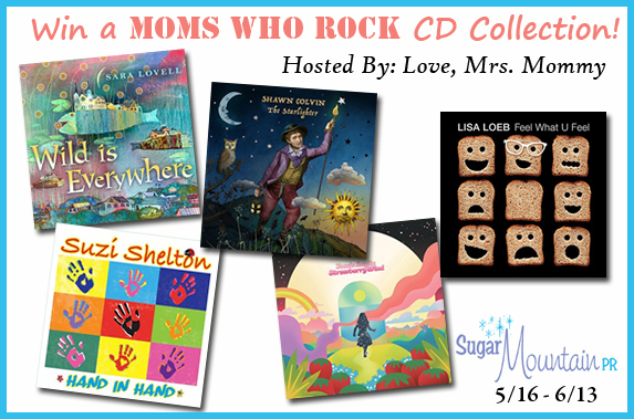 Moms Who Rock CD Collection Giveaway – Ends 6/13/18