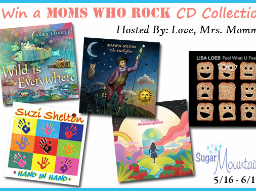 Moms Who Rock Music Giveaway!