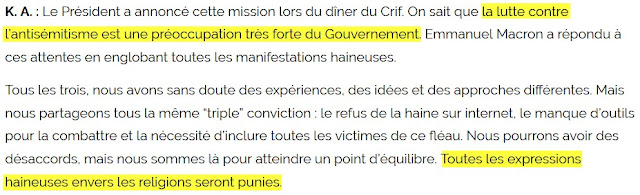 Extrait de l'article Extrait de l'article « Contre la cyberhaine, il faut que les gens recourent au droit »