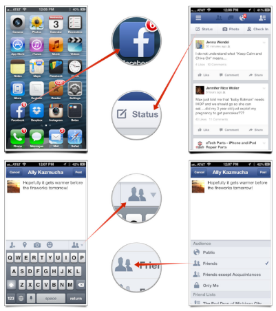 How to Change Privacy Settings on Facebook App