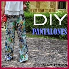 PANTALONES PATA DE ELEFANTE DIY