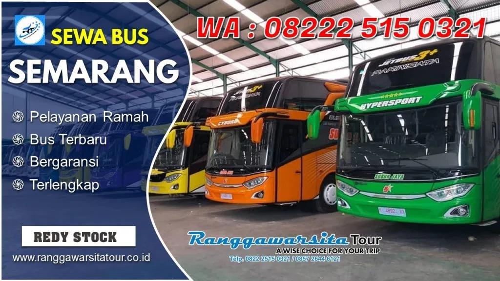 Harga Sewa Bus Semarang