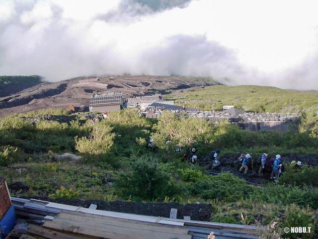 富士山・吉田ルートからの景色