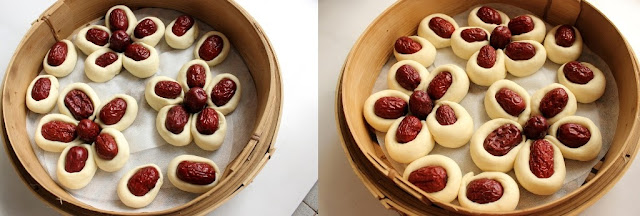Red Date Steam Bun