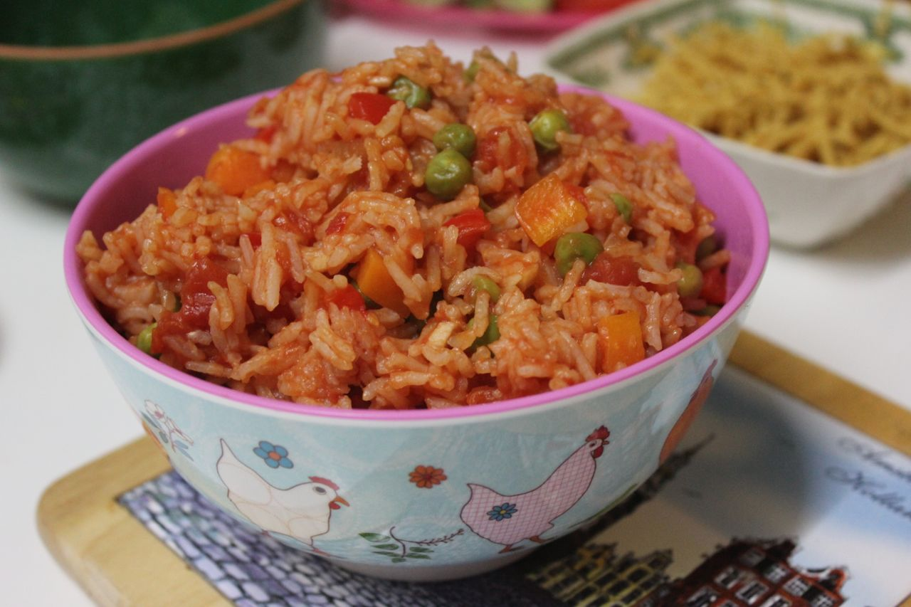 mexican rice in the microwave