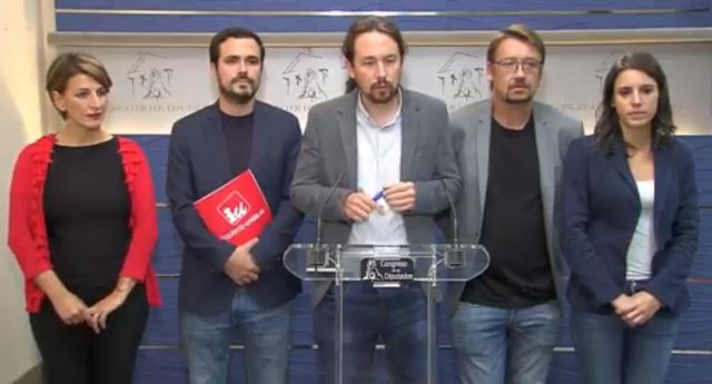 Rajoy rechaza la oferta de mediación lanzada por Unidos Podemos con el apoyo de ERC y PDeCAT