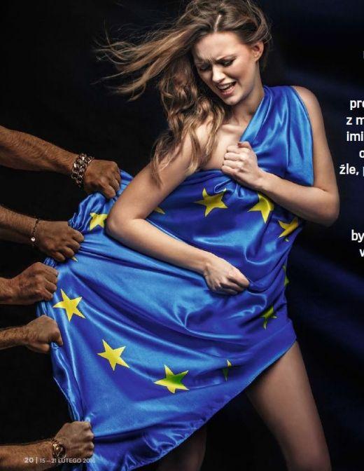 Европа е изнасилена